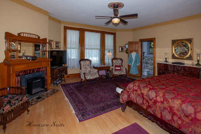 Hanson-Suite - Hanson House, Grayling, Michigan
